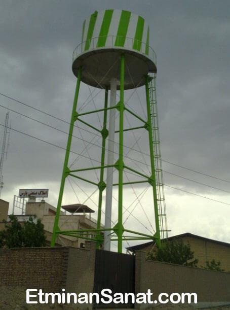 تانکر آب هوایی فلزی استوانه ای