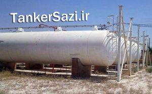مخزن گاز LPG مایع